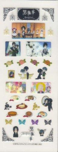 Kuroshitsuji Cellphone Sticker Sheet  (Comiket Only)