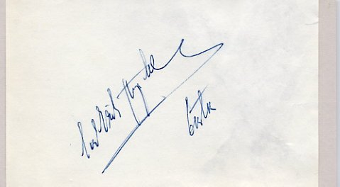 1952 Oslo Speed Skating Bronze CARL-ERIK ASPLUND Autograph 1950s