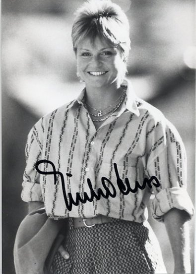 Swiss Alpine Skiing Legend ERIKA HESS Hand Signed Photo 4x6