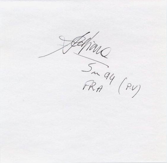 1996 Atlanta Pole Vault Gold JEAN GALFIONE Autograph '96