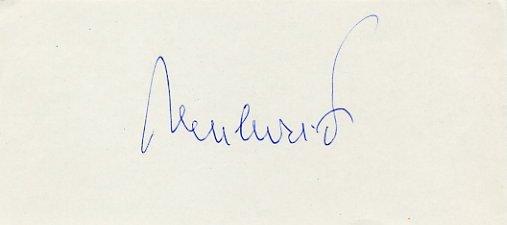 1964 Tokyo Water Polo Silver FRANE NONKOVIC Autograph