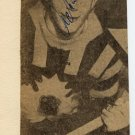 1964 Innsbruck Ice Hockey Silver ANDERS ANDERSSON Autograph