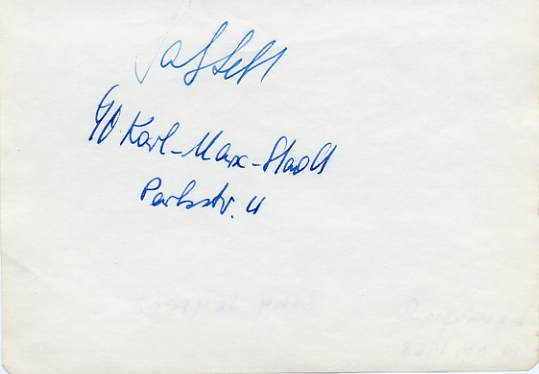 1969-70 Figure Skating World Champion GABY SEYFERT Autograph 1968