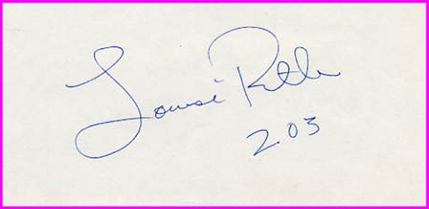 1988 Seoul High Jump Gold LOUISE RITTER  Autograph