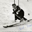 1952 Oslo Alpine Skiing Medalist ANNEMARIE BUCHNER Signed Photo 4x6