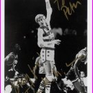 1972 Munich Basketball Silver & NBA TOM McMILLEN Signed Photo 5x7