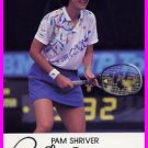 1988 Seoul Tennis Gold PAM SHRIVER Hand Signed Photo 4x6