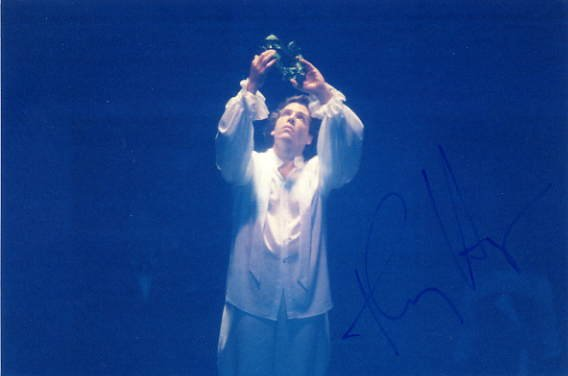Famous American Baritone THOMAS HAMPSON Hand Signed Photo 4x6