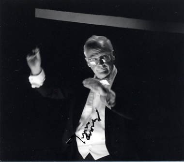 Conductor & Santa Fe Opera JOHN CROSBY Hand Signed Photo