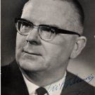 Well-Known Estonian Baritone TIIT KUUSIK Hand Signed Photo 1960s