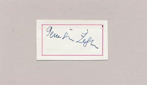 1960 Rome Football Gold ZELJKO PERUSIC Autograph 1960