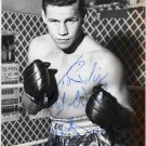 1961 Middleweight Boxing Champion TERRY DOWNES Hand Signed Photo 4x6