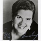 Famous Dutch Soprano ELLY AMELING Hand Signed Photo