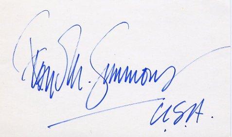 1948-1952 Decathlon Bronze FLOYD SIMMONS Autograph