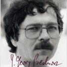 1987 Nobel Physics JOHANNES GEORG BEDNORZ Hand Signed Photo