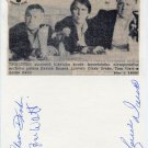 Canadian Ice Hockey Coaches CLARE DRAKE-TOM WATT-LORNE DAVIS Autographs 1979