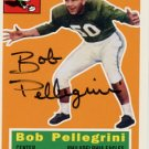 College Football HOF BOB PELLEGRINI Hand Signed Card
