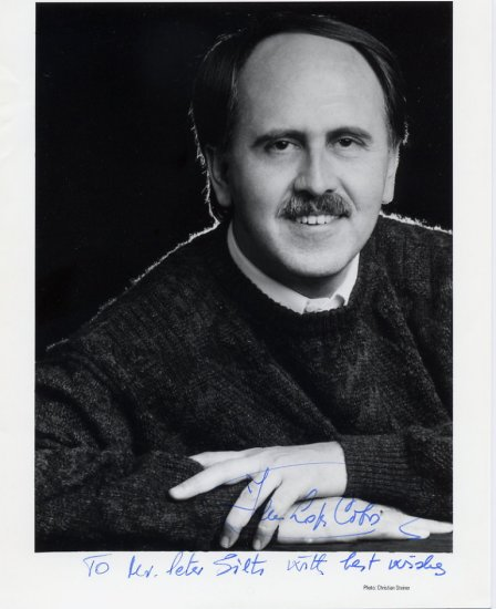 Notable Spanish Conductor JESUS LOPEZ-COBOS Hand Signed Photo 8x10