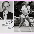 Tennis - 1972 Wimbledon Champion STAN SMITH Hand Signed Photo 8x10