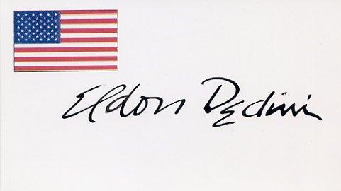 Playboy Cartoonist ELDON DEDINI Hand Signed Card