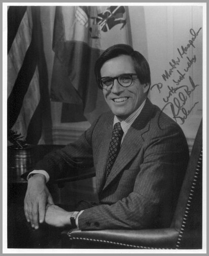 Governor of Delaware PIERRE S. du PONT Hand Signed Photo 8x10