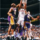Basketball Sixers DERRICK COLEMAN Hand Signed Photo 8x10