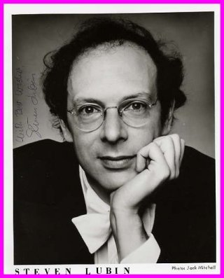 American Pianist STEVEN LUBIN Hand Signed Photo 8x10