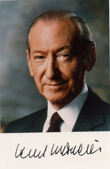 Secretary General of the UN & Austrian President KURT WALDHEIM Hand Signed Photo 4x6