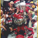 Four-time Indy 500 Champion RICK MEARS Hand Signed Photo 8x10