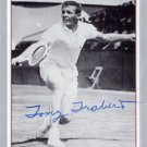 1950s Tennis Star TONY TRABERT Hand Signed NETPRO Card 1991