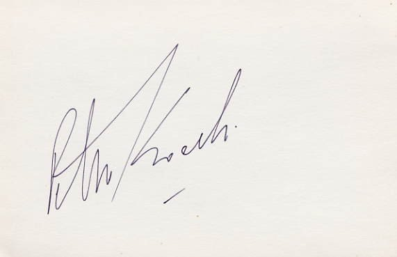 1988 Seoul 3000m Steeplechase Silver & WR PETER KOECH Hand Signed Card