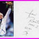 1996 Atlanta Javelin Gold HELI RANTANEN Autograph 1996 & Photo