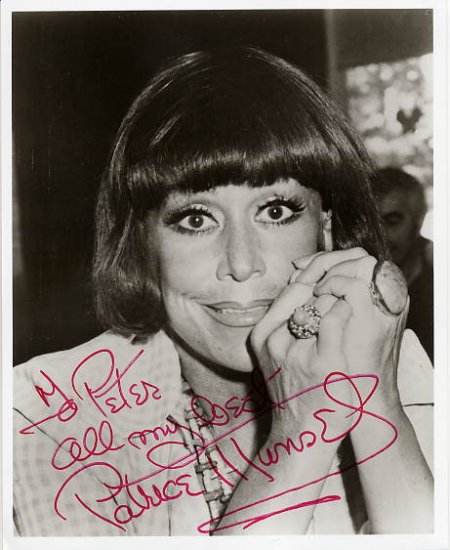American Coloratura Soprano PATRICE MUNSEL Hand Signed Photo 8x10