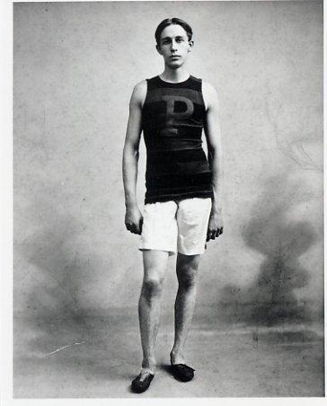 1900 Paris Track & Field Five Olympic Medals WALTER TEWKSBURY Photo 4x5