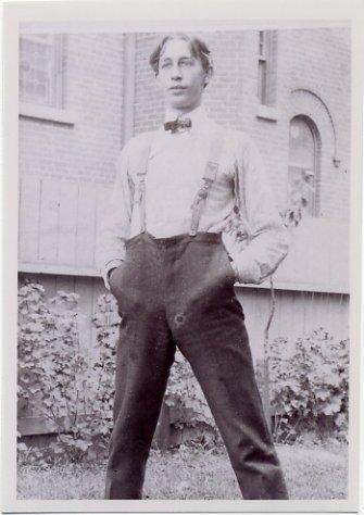 1900 Paris Athletics Gold WALTER TEWKSBURY Photo 3,5x5