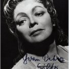 German Soprano MARTHA MODL Hand Signed Photo 4x6