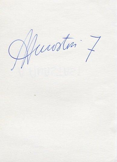 Italian Volleyball Star ANDREA ANASTASI Autograph 1991