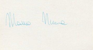 1984 Los Angeles Fencing Gold MAURO NUMA Autograph 1984