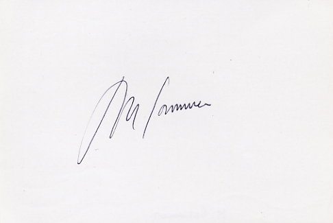 1968 Mexico City 800m Bronze & WR  MARIA GOMMERS Autograph