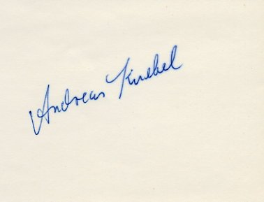 1980 Moscow 4x400m Relay Silver ANDREAS KNEBEL  Autograph