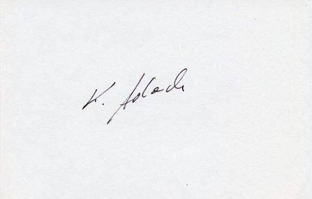 1980 Moscow Boxing Bronze KAZIMIERZ ADACH  Autograph 1980