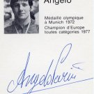 1980 Moscow Judo Heavyweight Gold ANGELO PARISI Autograph 1980