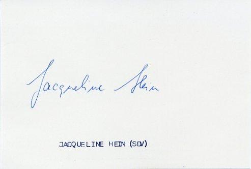1972 Munich Javelin Silver JACQUELINE TODTEN  Autograph