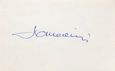 1956 Melbourne Fencing Bronze LAJOS SOMODI Autograph 1980s