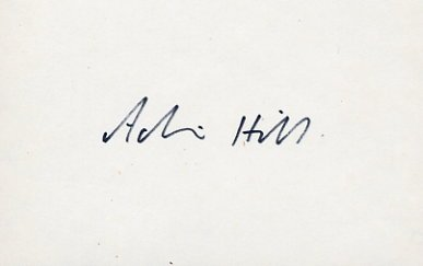 1960 Rome & 1964 Tokyo Rowing Silver ACHIM HILL Autograph