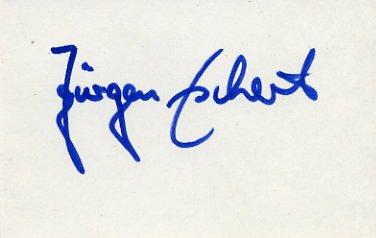 1964 Tokyo Canoeing Gold JURGEN ESCHERT Autograph