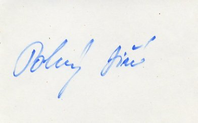 1980 Moscow Cycling Bronze JIRI POKORNY Autograph 1980s