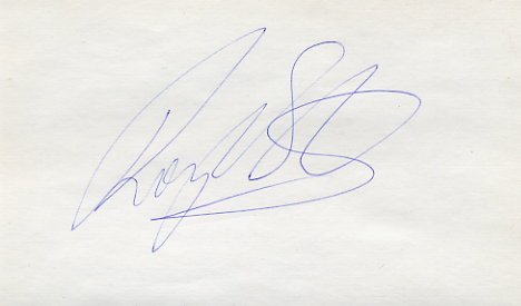 1992-96 400m & Relay Medalist ROGER BLACK Autograph 1994