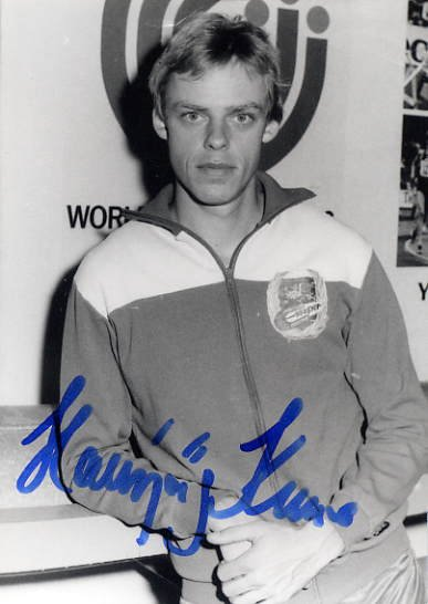 1988 Seoul 5000m Bronze HANSJORG KUNZE Hand Signed Photo 4x6