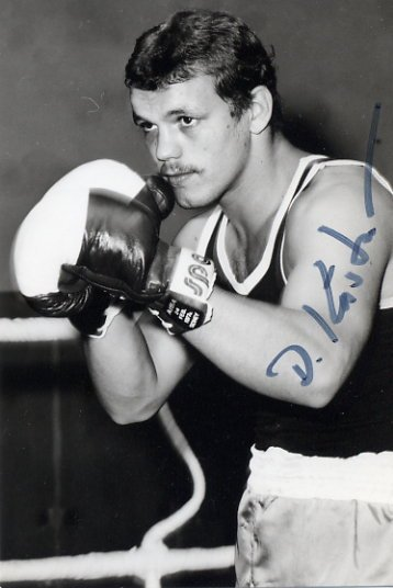 1980 Moscow Boxing Bronze DETLEF KASTNER Hand Signed Photo